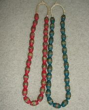 Bead Strand Choker Ashants Krobo Pendant African Ghana Nice Necklace Glass Trade