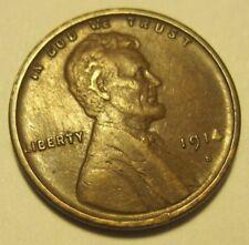 1914 S XF LINCOLN CENT PENNY * COMBINE * Still 2 bucks Ship * ends SAT, JUNE 23