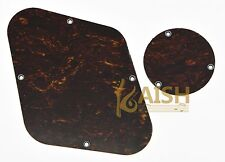 Red Tortoise LP Rear Control & Switch Plate Cavity Cover For Epiphone Les Paul