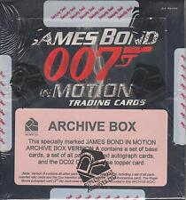 James Bond In Motion - Factory Sealed Archive Box - Boxes A and B