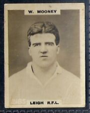 PINNACE FOOTBALL-PINNACE BACK-#2185- RUGBY - LEIGH RFL - W. MOONEY