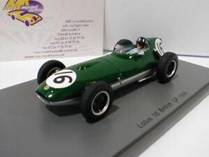 Spark S5340 # Lotus 16 No.16 14th British GP 1958 Graham Hill 1:43