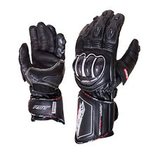 RST 2092 Tractech Evo R Race Sports Leather Aramid Motorcycle Gloves - Black