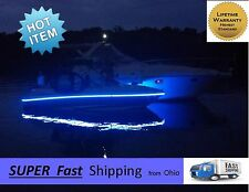 BLUE boat lights pontoon or pleasure boat -- 16ft or cut to (2) 8ft pieces