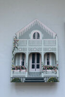 Shelia's Collectibles Retired Gingerbread Cottage Oaks Bluff Massachusetts