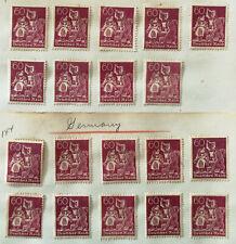 German Deutsches Reich 60 Pfennig Blacksmith Workers Stamp 1921