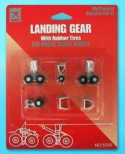 Hogan 5330 1:200 Scale Landing Gear For McDonnell Douglas MD-11 w/ Rubber Tires