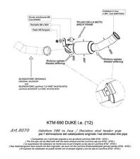 SCARICO LEOVINCE SBK KIT COLLETORE KTM DUKE 690  no kat