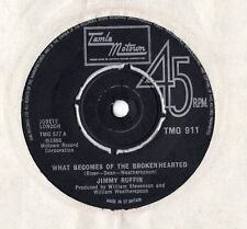 "Jimmy Ruffin - What Becomes Of The Broken Hearted 7"" Sgl"