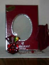 WATERFORD 2010 RUBY RED LISMORE TOASTING FLUTE CRYSTAL ORNAMENT~~PREFECT GIFTS