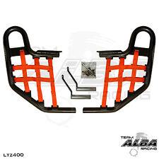 LTZ 400 LTZ400 Suzuki   Nerf Bars   Alba Racing   Black bar Red nets 206 T1 BR