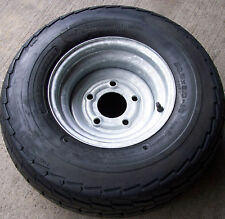 20.5x8.0-10 Pop up Camper Utility Pontoon Boat Trailer Tire Rim Wheel 6 ply 5-H