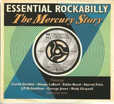 ESSENTIAL ROCKABILLY THE MERCURY STORY - 2 CD BOX SET
