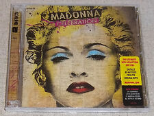 MADONNA Celebration Double CD SOUTH AFRICA Catalogue#: WBCD 2224 *36 Hits*