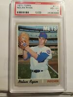 1970 Topps New York Mets Nolan Ryan #712 PSA 4