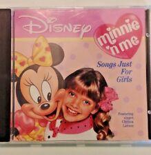 RARE_Minnie 'n Me: Songs Just for Girls by Disney (CD, Sep-1990, Walt Disney)