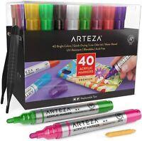 ARTEZA Acrylic Markers - Set of 40