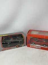 Burago Tonka Polistil Ferrari F40 Lot -1:24 Scale Black Red Diecast Cars