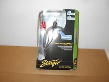 *STINGER SI129 CAR STEREO 2 CHANNEL RCA SHIELDED 9' 1000 AUDIO CABLE FREE SHIP