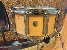 "Ludwig Classic Maple Snare Drum 6.5"" x 14"" 10-Lug Natural Gloss Maple"