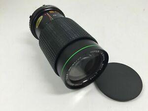 Super Albinon One-Touch Auto Zoom Lens 100-200mm f/4-4.5 for Minolta MD