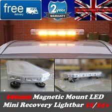 """LED Lightbar 600MM / 60CM  / 24"""" MAGNETIC Amber LED Recovery Lightbar"""