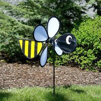 "Ground Decor Bee Baby Spinner 12"" W x 23"" H x 17"" D In the Breeze ITB-2801"