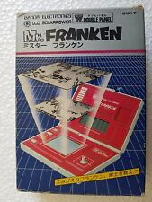GAME & WATCH BANDAI LCD SOLAR POWER MR.FRANKEN SOLARPOWER
