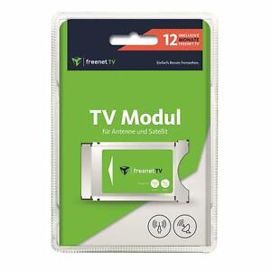 FREENET TV DVB-S2/DVB-T2 Jahres Modul HD-Qualität 12 Monate