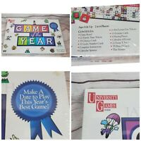 University Games 1997 Game of the Year Fun Family Board Game - NEW/ SEALED -