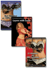 The Shimmy Queen DVD Set - How to Belly Dance with Leyla Jouvana