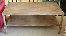Vintage 1970 Keller Williams Two Tier Side Table #1332 with Special Finish