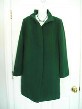 $310 NWT TALBOTS WOOL THINSULATE GREEN COAT JACKET 14WP 14W Petite 1XP (807Gst)
