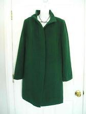 $309 NWT TALBOTS WOOL THINSULATE GREEN COAT 12WP XP (Like PXL PL 1XP) (sp812w