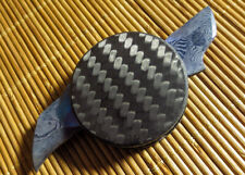 Warren Thomas Custom Carbon Fiber Dual Blade Coin Knife PROTOTYPE - NEW