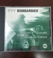 NEW OEM BOMBARDIER TECHNICAL PUBLICATIONS CD DISC 2003 219700327