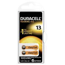 6 Duracell Hörgeräte Batterien Hörgerät Batterie Typ 13