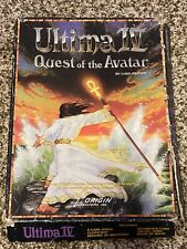 Ultima Iv Quest of the Avatar St Vintage Computer Game Disk Box +Map Rare!