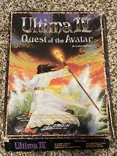 Ultima IV Quest of the Avatar ST Vintage Computer Game Disk Box +MAP RARE!!