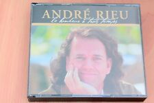 André Rieu - Bonheur à 3 temps  Valses  Strauss  Chopin Massenet ...3 CD Philips