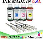 4x100ml Refill ink Bottl for HP 910 910xl OfficeJet Pro 8035 8028 8025 8022 8020