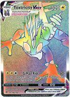 Toxtricity Vmax 196/192 - Secret Rare - Pokemon Sword and Shield Rebel Clash