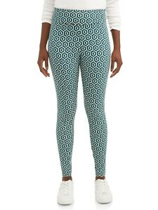 Time and Tru Printed Legging Women's Size Small (4-6) Ankle Length
