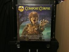 Spirit Halloween Compost Corpse Zombie Prop Decor Rare New in Box!