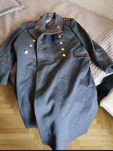 USSR General Colonel Uniform 3 stars Overcoat Soviet Army Militaria Rare