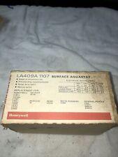 Honeywell Tradeline Aquastat Relay Model La409a 1107