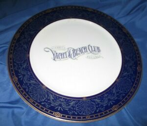 YACHT & BEACH CLUB Original Disney Cast Member Prop ~Dinner Plate from Resort