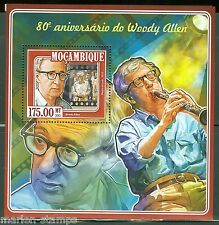 MOZAMBIQUE 80th BIRTH ANNIVERSARY OF WOODY ALLEN   S/S  MINT  NH