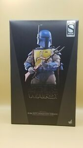 Boba Fett Animation Version Masterpiece Series Hot Toys Exclusive NEW Sideshow