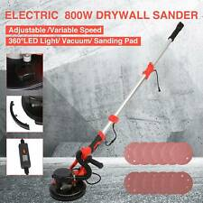 Commercial Drywall Sander 800w Electric Adjustable 6 Speed Wsand Pad Light Bar